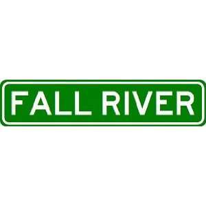 FALL RIVER City Limit Sign   High Quality Aluminum  Sports