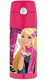 BARBIE   New Thermos FUNtainer Beverage Bottle   12 oz