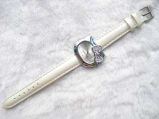 New helloKitty white crystal Quartz wrist watch K4302w