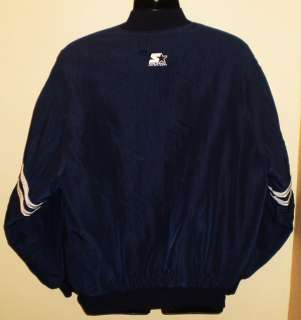 Vtg NFL DALLAS COWBOYS Mens Starter Jacket L