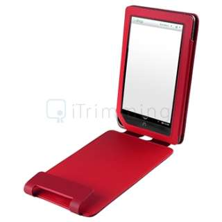 For B&N Nook Color Premium Folio Leather Carrying Case Cover Pouch w