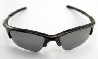 New Oakley Sunglasses Half Jacket XLJ Jet Black Baclk Iridium
