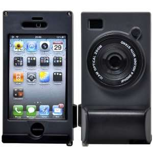 Style iPhone 4 Jacket Pack, Plastic Holder for iPhone 4 with Stand