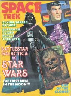 Space Trek Magazine Vol 2 #2, Star Wars 1979 VERY FINE+