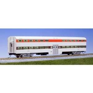 Kato HO Scale Pullman Bi Level Cab Coach, RTA #8716 Toys & Games