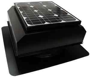 Solar Powered Attic Fan, AB 202A Attic Breeze, 20 Watt