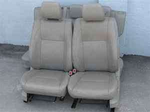 06 08 Suzuki Grand Vitara Leather Seats w/ Airbags OEM