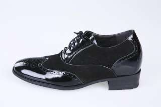 TOTTII Elevator shoes height increasing shoes Taller Shoes T2001 +3.2