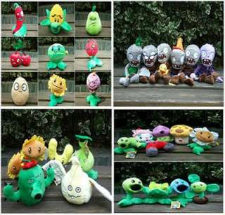 30 PC New Soft Plants Vs Zombies Plush toy doll gift