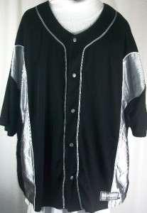 Asphalt Legend Baseball #27 Jersey Snap Front Shirt 3XL