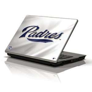 MLB San Diego Padres White 10 Netbook Skin Sports
