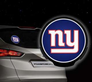 NFL Power Decal New York Giants Auto/Car Window Motion Activated