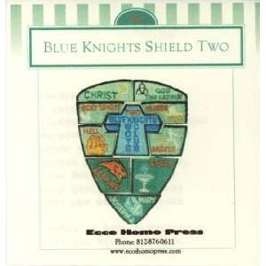 Blue Knights Boys Club Shield Badges   Year 3 Home