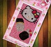 Universal Adorable Hello Kitty Rhinestone Sticker for iPhone