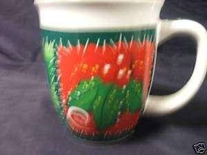 ROYAL NORFOLK CHRISTMAS COFFEE MUG TEA BERRIES CUP