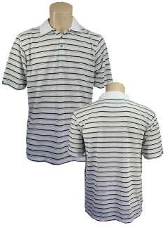 Bermuda Sands Striped Performance Mens Polo Shirt