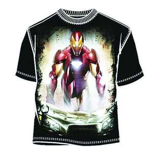 Iron Man Aftermath Blk T Shirt XXL  Clothing Mens Shirts