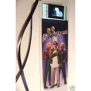 GALAXY QUEST movie film cell bookmark memorabilia