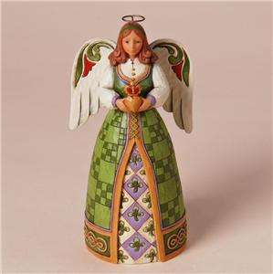 JIM SHORE IRISH ANGEL Fill Your Heart With Irish Blessings #4025836