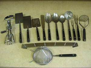 Vintage Flint Arrowhead Ekco Cooking Utensils / $9.00 to $45.00 / Buy