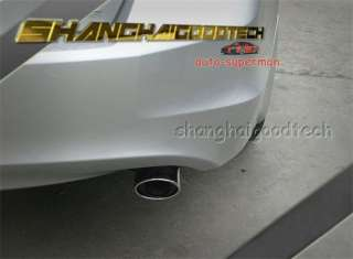 CHROME EXHAUST MUFFLER TIP for honda Accord 2008 2011