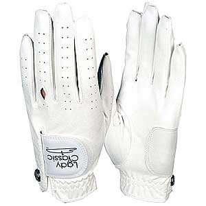Lady Classic Womens Suede Open Tip Golf Gloves
