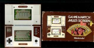 NINTENDO GAME & WATCH ELECTRONIC HANDHELD LCD ARCADE BOXED