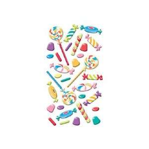 Sweet Tooth Puffy Stickers Office Products