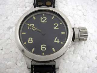 VINTAGE RUSSIAN NAVY DIVER DIVING MILITARY BIG WATCH EXCELLENT