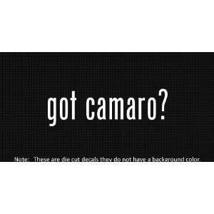 2x) Got Camaro   Sticker   Decal   Die Cut   Vinyl