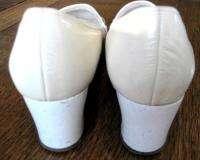 Naturalizer Womens Bone Med Chunky Heels Pumps 5B