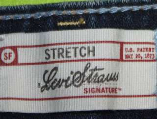 Levis sz 8 x 32 Stretch Womens Blue Jeans Denim Pants FM20