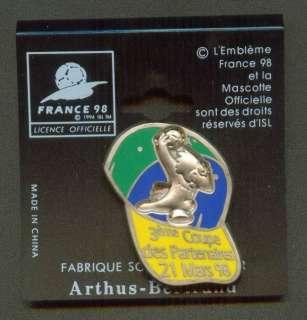 1998 France World Cup FIFA Pin Cap