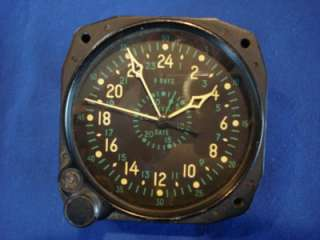 ERA Waltham CDIA 8 Day Clock US Navy Marine Corps Aircraft Civil Date