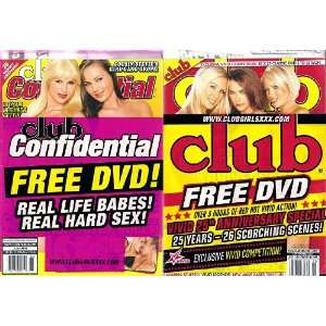 Club Magazine September 2009 with 2 Bonus DVDs: Club: