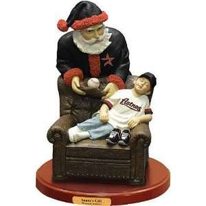 Houston Astros Santas Gift Figurine: Office Products