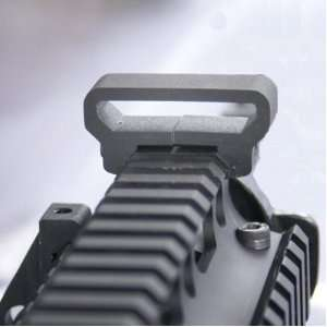 Machined Aluminum Sling Mount With Weaver Picatinny Rail Rifle Shotgun