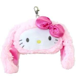 Sanrio Hello Kitty Floppy Eared Rabbit Plushie Pouch
