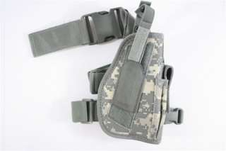 Airsoft Gun M9 P226 Drop Leg Pistol Holster Digital Army ACU