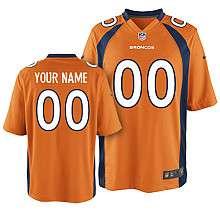 Peyton Manning Denver Broncos Kids Boys NFL Youth Orange