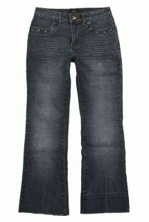 Baileys Point sz 3 / 4 Womens Blue Jeans Denim Pants EG7