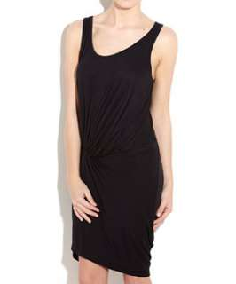 Black (Black) Only Printed Side Ruched Dress  233558201  New Look
