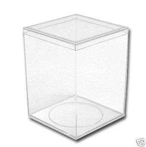 Beanie Baby Plush Toy Display Case Holder Cube Box