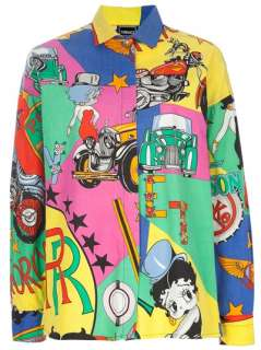 Gianni Versace Vintage Printed Shirt   House Of Liza   farfetch