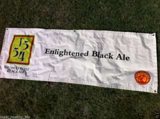 1554 New Belgium Black Ale Beer Cloth Banner Sign NEW