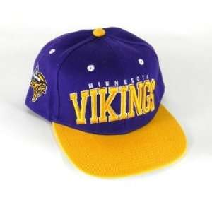 Minnesota Vikings NFL 2 Tone Flatbill Snapback Hat