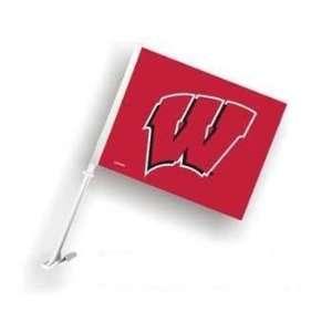 Wisconsin Badgers Car/Truck Window Flag