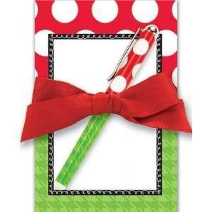 Brownlow Christmas Notepad Gift Set Stocking Stuffer