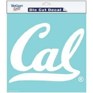 NCAA California Bears 8 X 8 Die Cut Decal