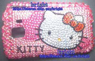 New Hello kitty Bling Case For LG Optimus S LS670 #2